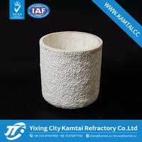 high temperature alumina ceramic crucible for sinter powder