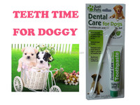 100g Dental hygiene kit for dogs toothpaste with toothbrush