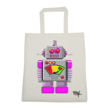 Customize cotton canvas bag, newly canvas tote bag, canvas tote bag with heat-transfer printing
