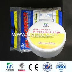 Fiberglass high deformed resistance drywall adhesive tape trade assurance/EPS fiberglass mesh