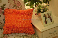 Home using wholesale stretch fancy european style designed faux fur cushion covers