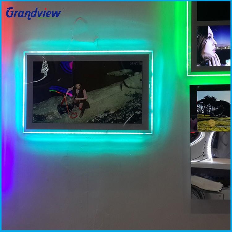 NOVO!!! preço barato de vídeo publicidade indoor LEVOU cristal RGB