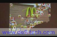 Low price interactive floor advertising display,payment kiosk