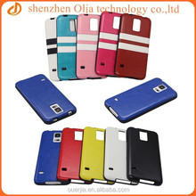 Fancy for samsung galaxy s5 pu leather coating case,for samsung s5 case,tpu s5 case