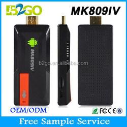 Smart Android TV Box Mini PC MK809IV WIFI RK3188 HD 1080p TV programmes movies