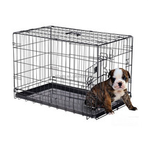 Hot Sales Cheap Two Door Folding Dog Crate