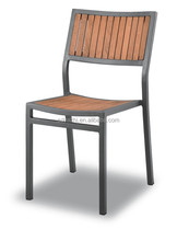 classical design outdoor chair PS wood garden side chair