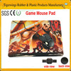 2015 factory price sublimation mouse pad, ernogomic mouse pad, large mosue pad