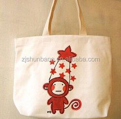 cotton bag/ blank cotton wholesale tote bags plain white cotton tote bag