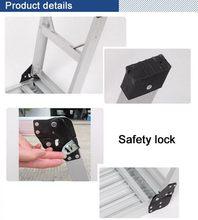Designer top sell 2*8 aluminum combination ladder
