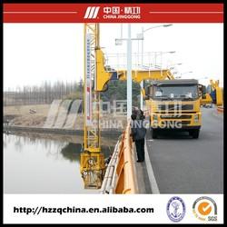 Bridge inspection truck, bridge inspecting vehicle, Inspection van