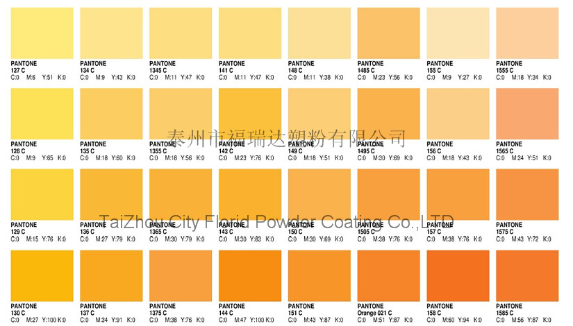 Powder Coating Ral Color Cards Matt Anti Corrosion