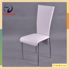 modern white leather cafe modern chairs luxury dining room furniture