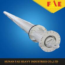 rotary drilling rig interlocking kelly bar/friction kell bar