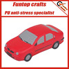 Polyurethane car stress relievers sedan anti stress toys