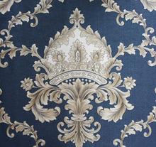 2015 New Simple European Style Vinyl Wallpaper/ Damask Pvc Wallcovering/Modern Classical Wallpaper