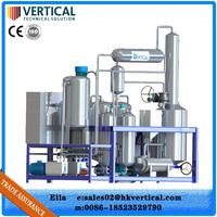 Zero pollution Water cooling technology hydraulic oil filtration system
