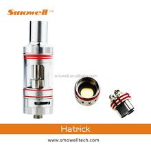 Hot selling latest original smowell hatrick e cig vape mod tanks in stock vs kraken atomizer