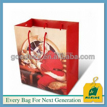 manufacture supply free logo design art paper bag