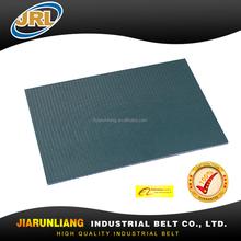 Navy blue 9mm PVC conveyor belt for polishing machine of ceramic, stone, tile, granite
