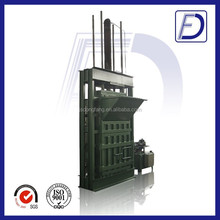 factory outlet baler machine for used clothing with ISO/CE