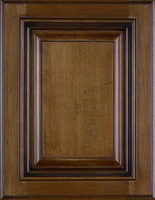 European raised style pvc curved kitchen cabinet doors
