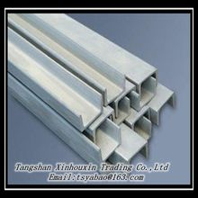 high quality mild hot rolled steel channel in Tangshan China