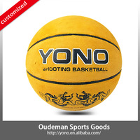 2015 Top quality in stock wholesale genuine leather basketball