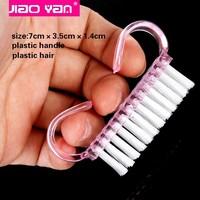 Wholesale plastic nail art scrub brush nail dust brush #4315