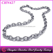 "Stainless Steel Chains for Pendant Necklace ""O"" Shaped Chain"