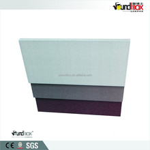 Sound absorption decorative fabric wall panel