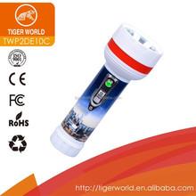 torch manufacturers OEM tiger world dry battery pocket maglite 2d best UK led light torch flashlight