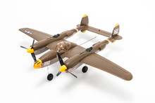 EasySky P-38 Lightning 2.4G 5CH 3 Axis 525mm Warbird Airplane Compatible DSM2 BNF