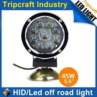 SUPER BRIGHT! 10PCS/LOT! 45W LED DRIVING LAMP for Offroad Car Boat Truck LED