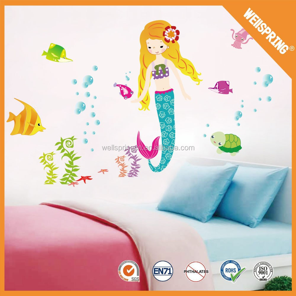 cheap but high quality and removable frozen wall stickers