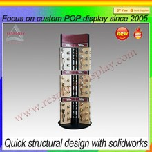 Round Metal Floors Door Handles And Locks Display Sets Display Shelf