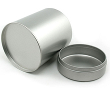 Factory Product Cylindrical Can Tin Box for Tea Candy Jewelry Small items and Gift
