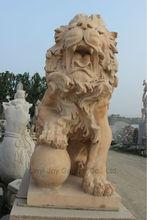 León de piedra Estatua En Venta