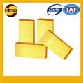 Baixa porosidade amarelo ouro tijolo tijolo de fogo preços baratos tijolo