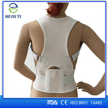 Top selling products aofeite therapy elastic magnetic correcting posture back supporter