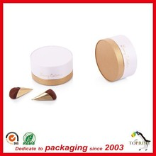 custom printed round shape paper tube can for candy/snack/ chocolate