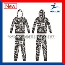 Healong Thermal Transfer Printing Youth Hoodie Fleece Fabric