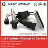 famous hid car lights 35W canbus ballast single bulb xenon kits