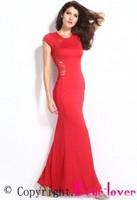 Best Sale Sexy Design Elegant Lace Long Dress Turkish Evening Dresses
