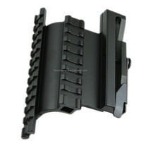 Funpowerland AKs Side Picatinny Rail QD Mount /Tactical Side Plate Double Picatinny-Style Side Rail Scope-Sight Mount for AK