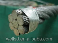 high tensile 10mm 11mm 12mm 13mm galvanized steel wire rope