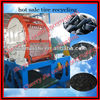 2014 high output tire shredder waste tyres recycling machine