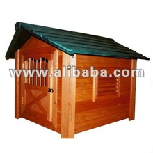 Wooden pet house cage