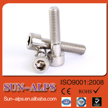 China supply hardware high demand products din912 socket head flat cap hex ms bolt