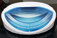 Beauties Factory 15W UV Sterilizer Tray For Sterilizing Sanitize Spa Skin Care Nail Art Salon Equipment